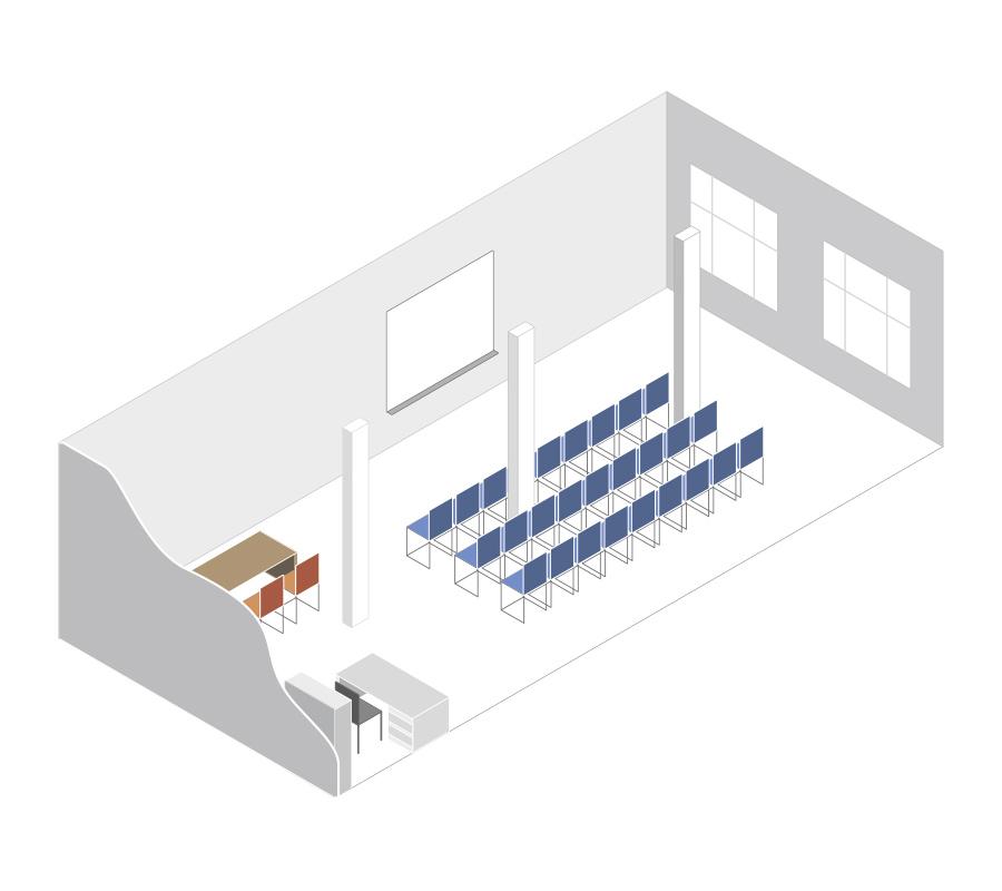 Οργανώστε το δικό σας event στον χώρο μας, Isometric Plan